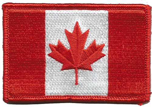 Canada Flag Tactical Patch - Color (Canada Flag Velcro)