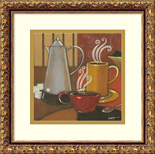 Framed Art Print 'Another Cup II' by Norman Wyatt, Jr.