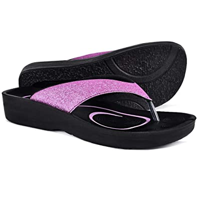 8f4b04d84518 AEROTHOTIC Original Orthotic Comfort Thong Sandal and Flip Flops with Arch  Support for Comfortable Walk (