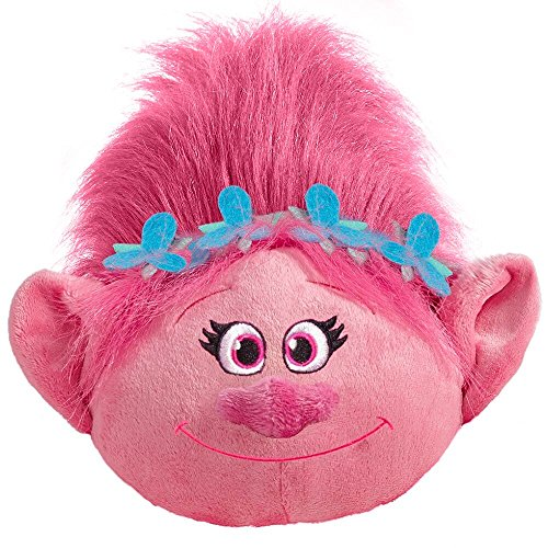 Pillow Pets Poppy DreamWorks Trolls - Stuffed Plush Toy for Sleep, Play, Travel, and Comfort - Great for Boys and Girls of All Ages - Soft and Washable]()