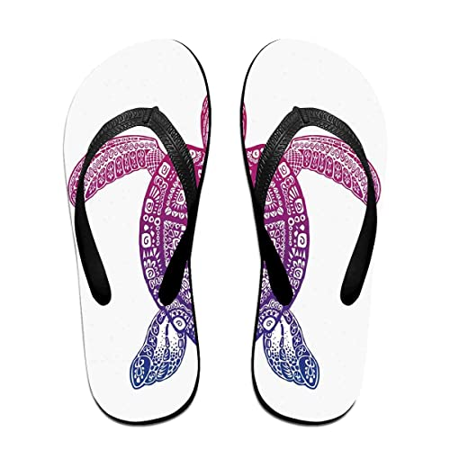f3d66cba2f07e Amazon.com | Funny Summer Flip Flop, Tribal Totem Animal Ethnic ...