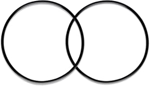 iSpring ORBX2 Replacement O-ring for Whole House Water Filtration Systems - Pack of 2