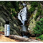 PURINIZE - The Best and Only Patented Natural Water Purifying Solution - Chemical Free Camping and Survival Water Purification 9 Add 20 drops per quart (liter) or 1 tsp. per gallon of water. Shake/stir well & let stand for at least 60 minutes. (Depending on water quality, additio