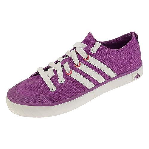 2a030b850016ad adidas Sneaker Mädchen Vulcanvas K V20313 Flieder (36 2 3 EU ...