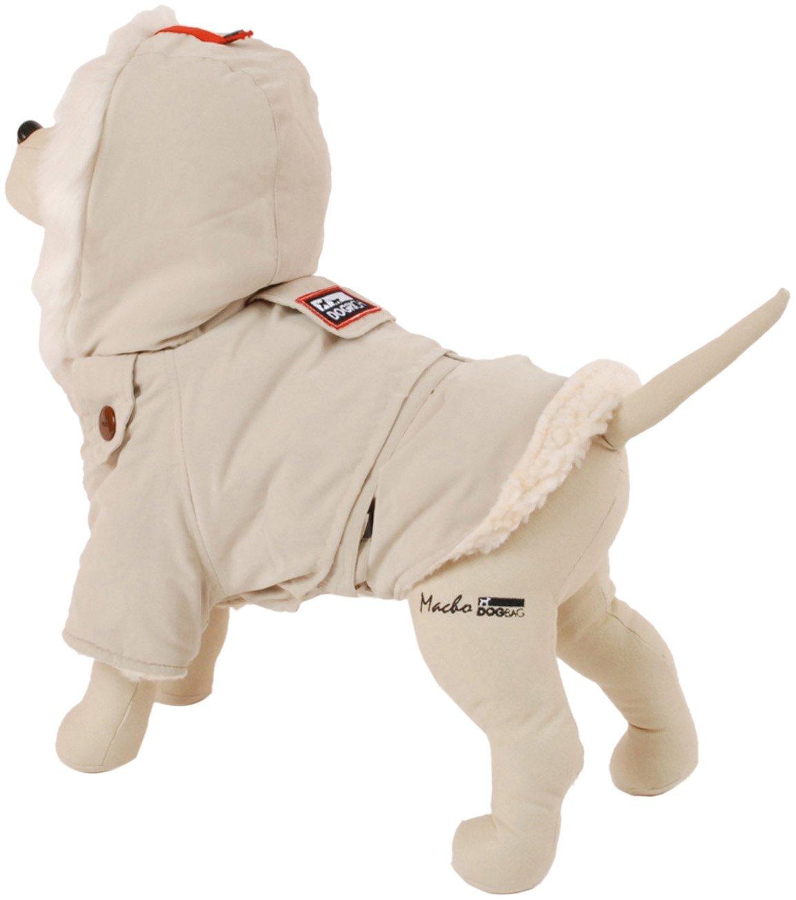 PetEgo Dogrich Alaskan Winter Dog Coat Cream Winter Pet Jacket by Petego