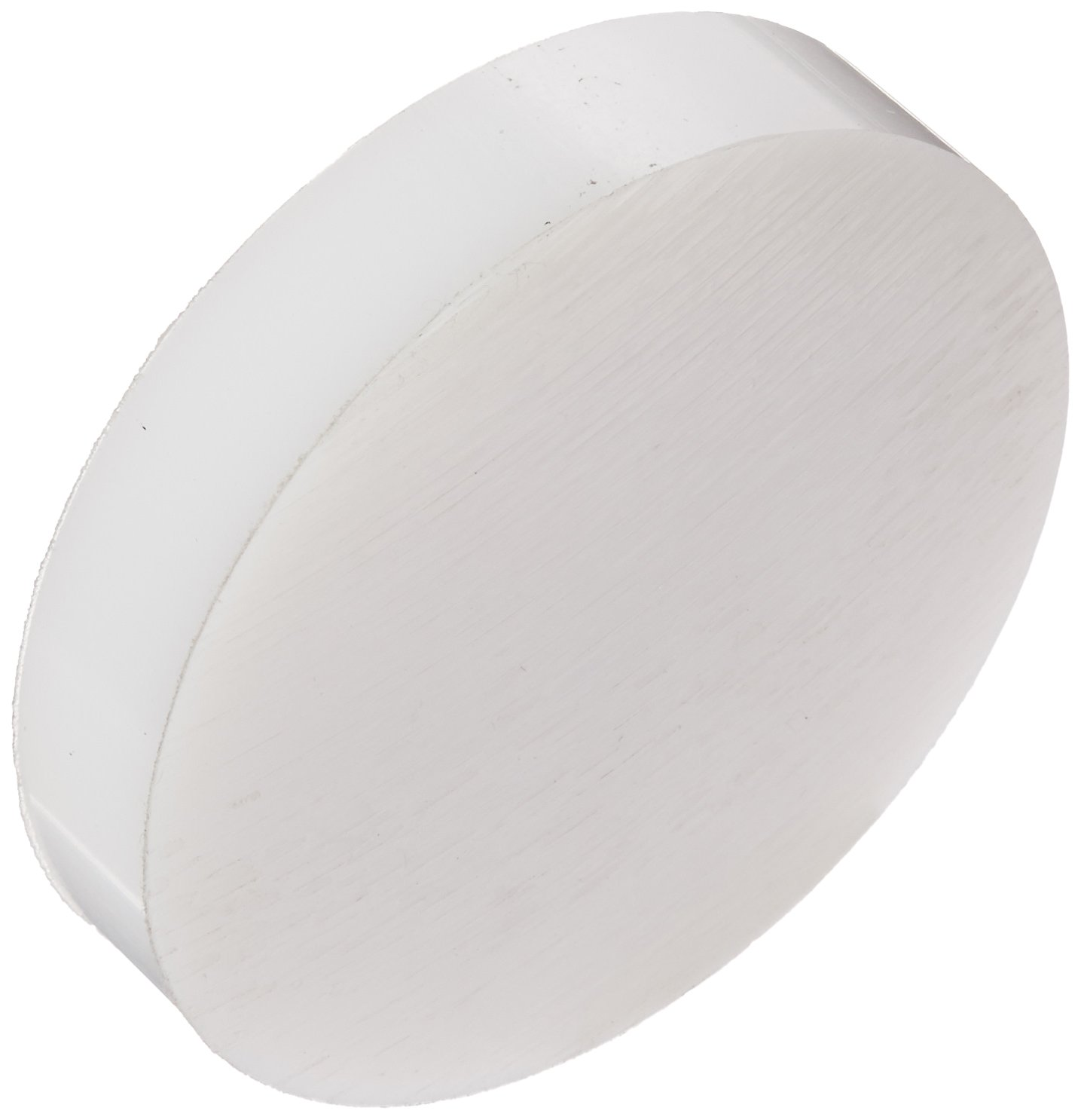 HDPE (High Density Polyethylene) Disc, Translucent White, Meets ASTM D4976/UL 94HB, 5' Diameter, 1' Thick 5 Diameter 1 Thick Small Parts Inc ZAM2966-B00EVCG9FS