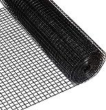 Fencer Wire 16 Gauge Black Vinyl Coated Welded Wire