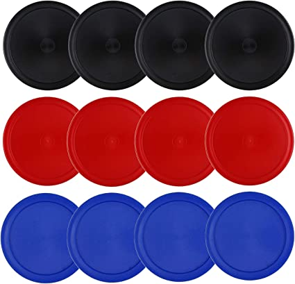 Full Size Goal Packs Replacement Accessories for Game Tables ONE250 3 1//4 inch Air Hockey Pucks 6 Pcs