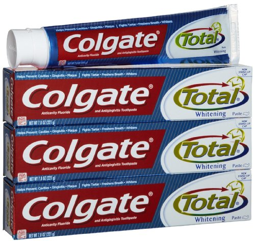 Colgate Total Plus Whitening Toothpaste-7.8 oz, 3 pk ()