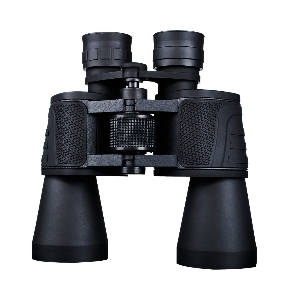 USCAMEL Binoculars Compact 10x50 for Adults, Waterproof for Hunting Bird Watching and Hiking, Black by USCAMEL