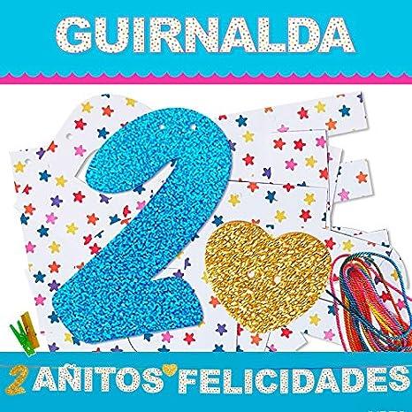 Inedit Festa - Cumpleaños Guirnalda 2 Añitos Felicidades ...