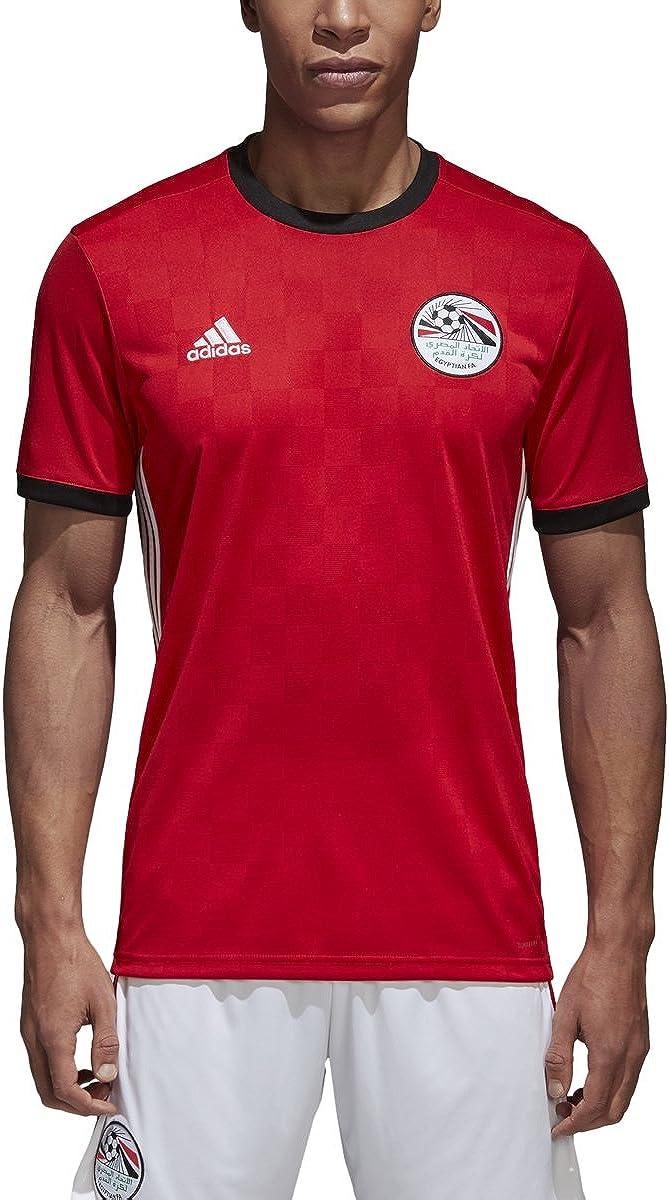 Adidas Men's Soccer Egypt Home Jersey