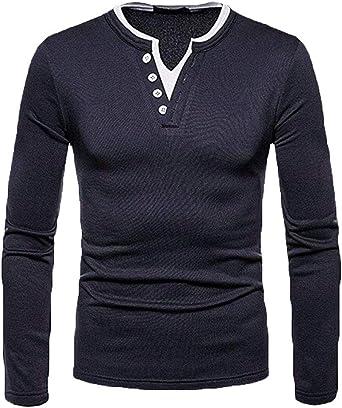 Suéter con Cuello Hombre para V En Camisa De Tamaños Cómodos ...