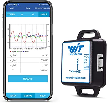WT61C RS232 Sensor IMU AHRS de alta precisión de 6 ejes Ángulo de ...