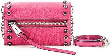 223932be7b She + Lo Women's Breakthrough Studded Mini Crossbody Bag in Fuschia, One  Size