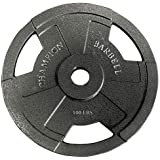 Champion Barbell Olympic Grip Plate (100-Pound)