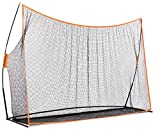 OUTROAD 10x7 FT Portable Golf Hitting Pitching Net - Return Golf Netting for backyard driving w/ carry bag