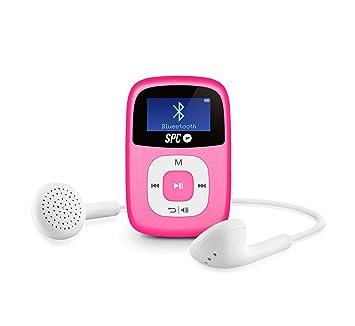 dd52c205b SPC Firefly Reproductor MP3 de 8 GB con Bluetooth y Radio FM en Color Rosa:  Spc: Amazon.es: Electrónica