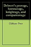 Debrett's peerage, baronetage, knightage, and companionage