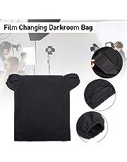 Essort Darkroom Bag Película Changing Bag, Photo Cameras Bolso Cambiador Portátil para Cámara, Película Muy Gran Bolso Cambiador, 60 x 55 cm, Negro