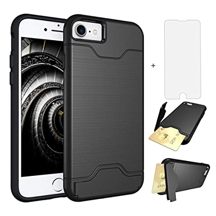 Amazon.com: Funda para iPhone 7 Plus/8 Plus, con protector ...