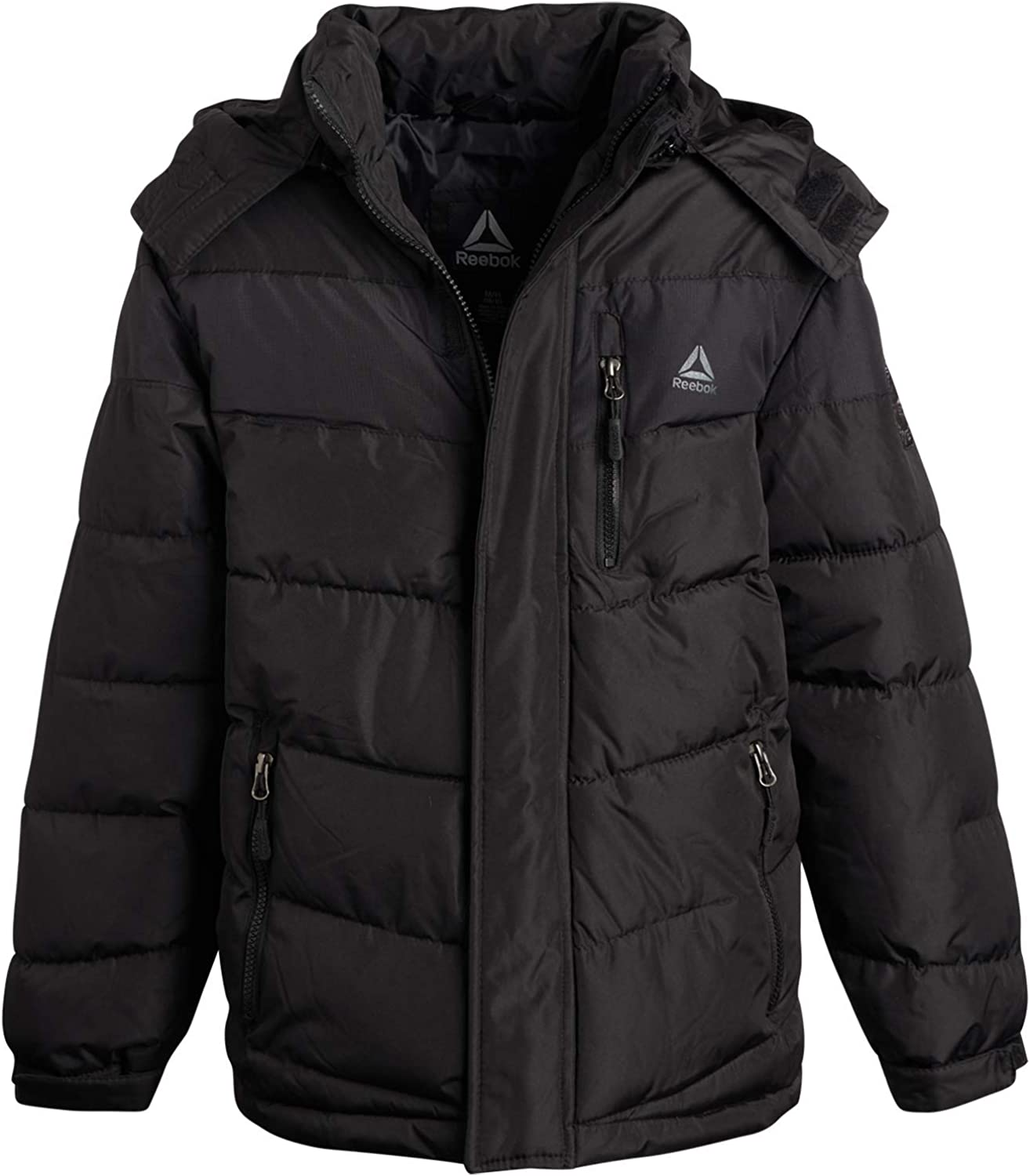 Reebok Boys Outerwear – Heavyweight Thick Winter Bubble Puffer Jacket
