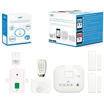 Sistema de Alarma de casa Inteligente smarthome sm400 + ...