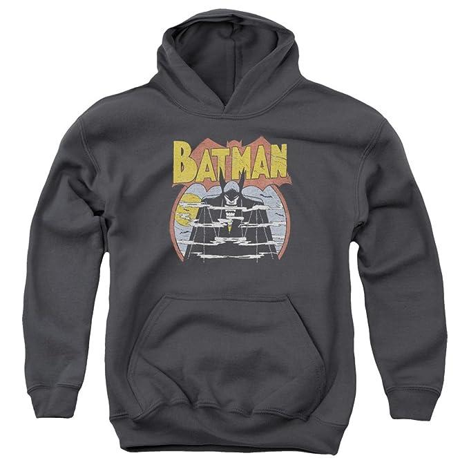 DC - Dc - Jóvenes de niebla de la sudadera con capucha, Medium, Charcoal: Amazon.es: Ropa y accesorios