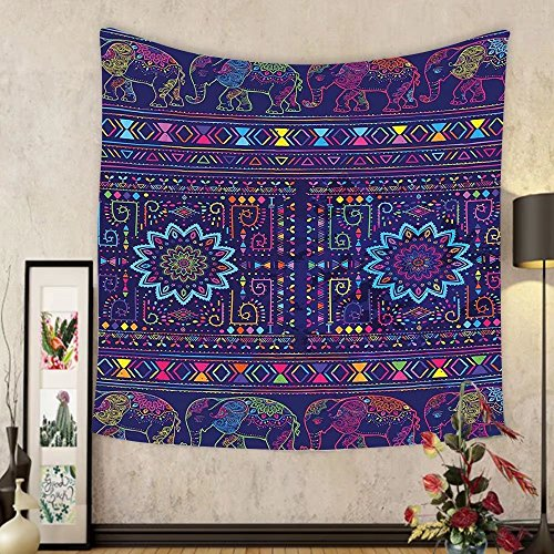 Gzhihine Custom tapestry Psychedelic Tapestry Traditional Ethnic Ramayan Epic Legend Divine Culture Sacred Holy Avatar Design for Bedroom Living Room Dorm Multi by Gzhihine