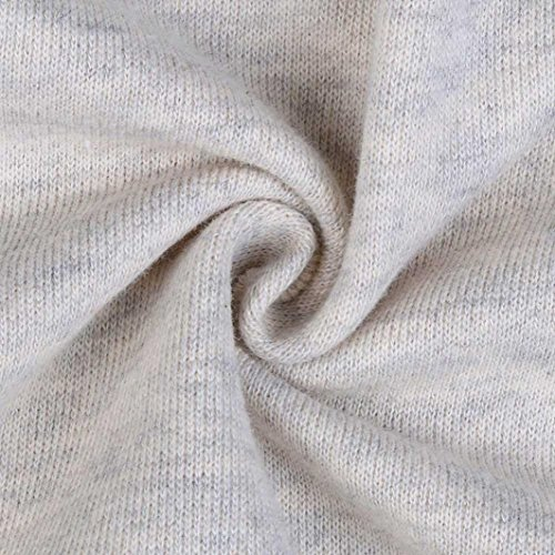 XUANOU Womens Long Sleeve Lace Blazer Suit Casual Jacket Coat Outwear (Large, White) by XUANOU (Image #6)