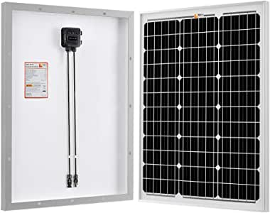 RICH SOLAR 50 Watts 12 Volts Monocrystalline Solar Panel