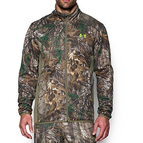 Under Armour Men's Scent Control Camo Jacket, Realtree Ap-Xtra/Velocity, X-Large