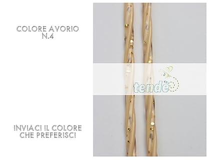 Tenda moschiera pvc venezia misure standard 80x200 90x200