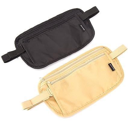 Cinturón monedero paquete de cintura, 2 Kits Ligero ...