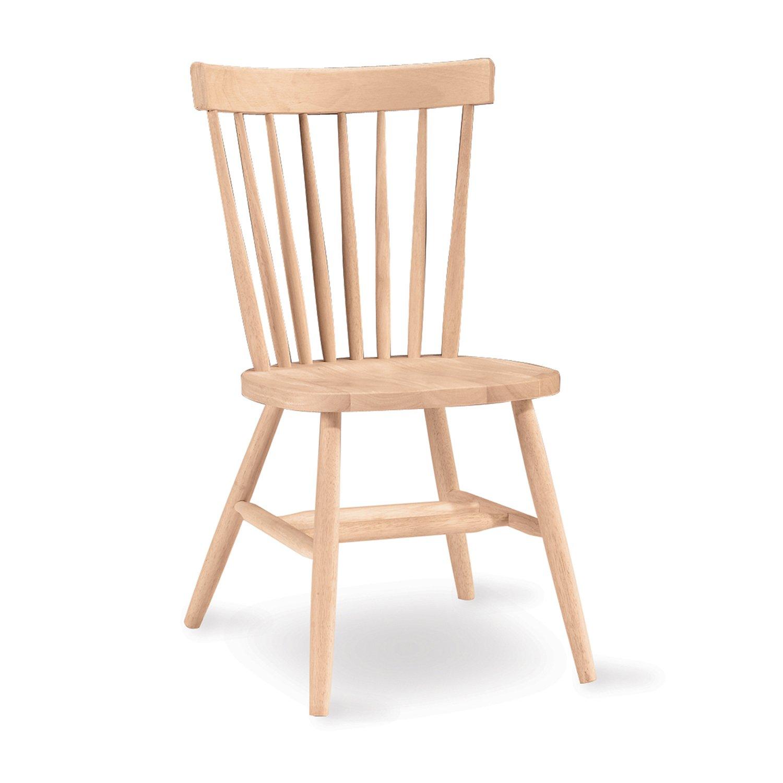 International Concepts 1C-285 Copenhagen Chair, Unfinished