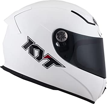 Amazon.es: KYT yskr00 W3.2 Casco Moto, Blanco, XS