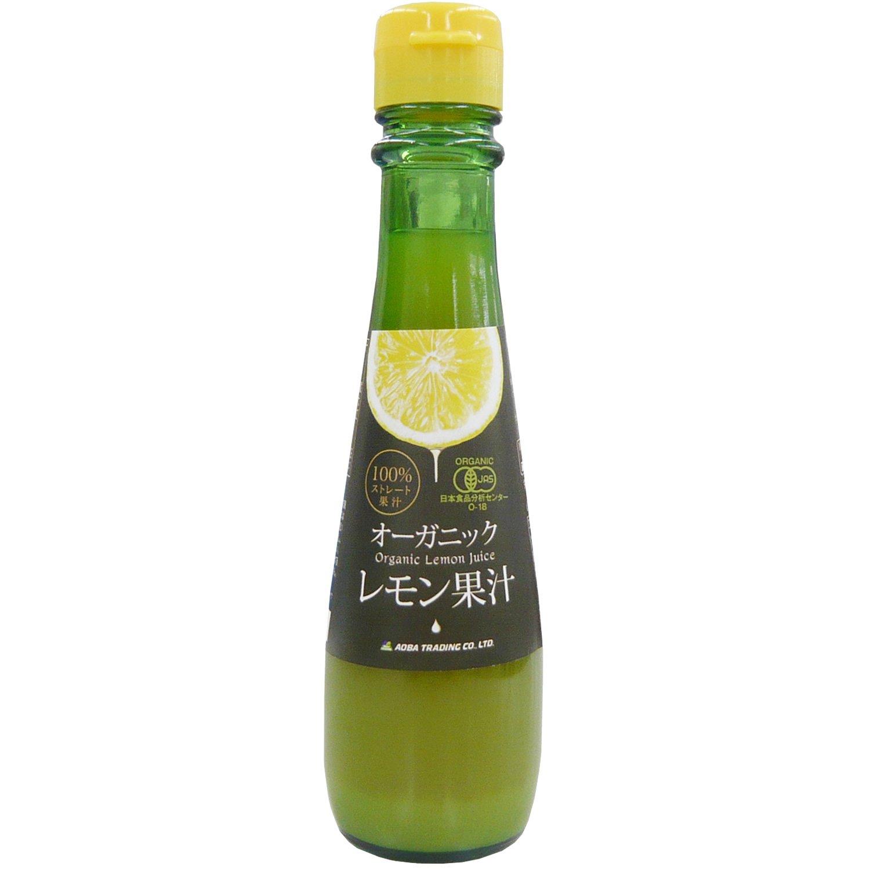 青葉貿易 有機レモン果汁 150ml