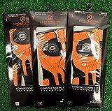 3 Zero Friction Men's Left Hand Universal Golf Gloves - Chicago Bears - Orange