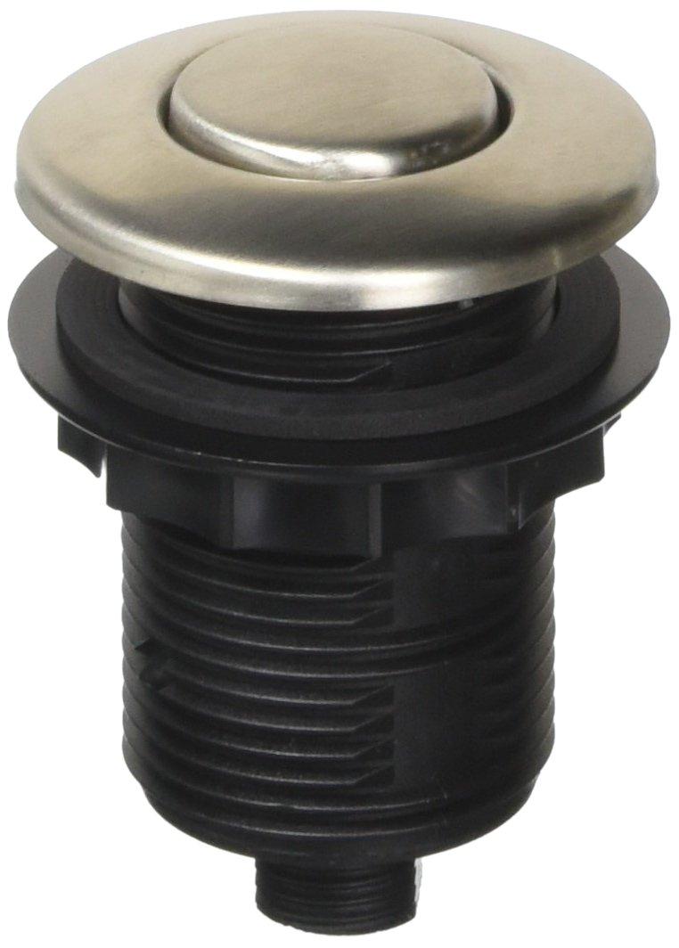 Franke WD3428SN Round Waste Disposer/Disposal Air Switch, Satin Nickel