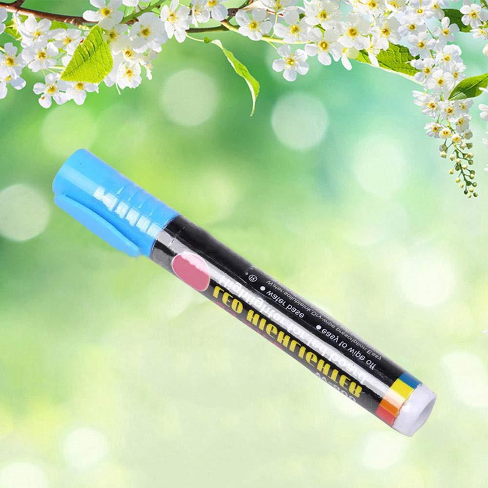 Merssavo 5 Pcs Queen Bee Marker Marker Set Wei/ß Gelb Rot Gr/ün Blau Markieren Sie Einen Festen Kugelschreiber