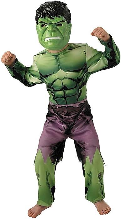 Captain America/Hulk 2-1 reversible Costume for Kids