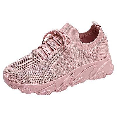 Zapatos para Mujer,ZARLLE Zapatillas de Deporte,Gimnasio Aire Libre Y Deporte Transpirables Casual Zapatos,Transpirables Casual,Zapatos de Cordones para Mujer,Sneakers para Caminar: Ropa y accesorios