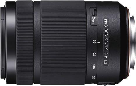 Sony 55-300mm f/4.5-5.6DT Sam - Objetivo para Sony (Distancia ...