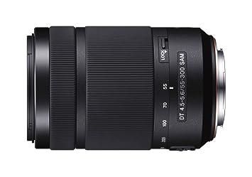 Sony DT 55 300mm F/4.5 5.6 Telephoto Zoom Lens for Sony DSLR Camera Lenses
