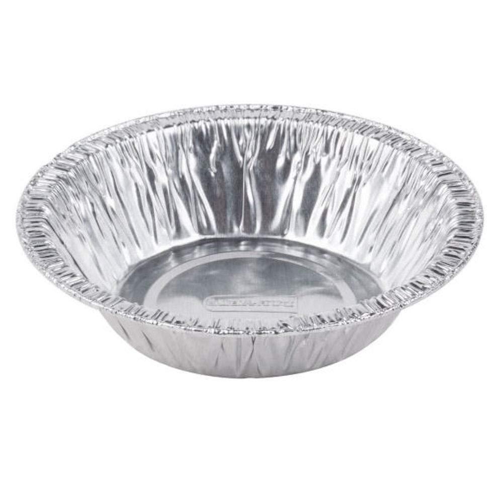4 7/8'' Tart Pan Disposable Aluminum Mini Pot Pie Tin Bulk (Pack of 1000)