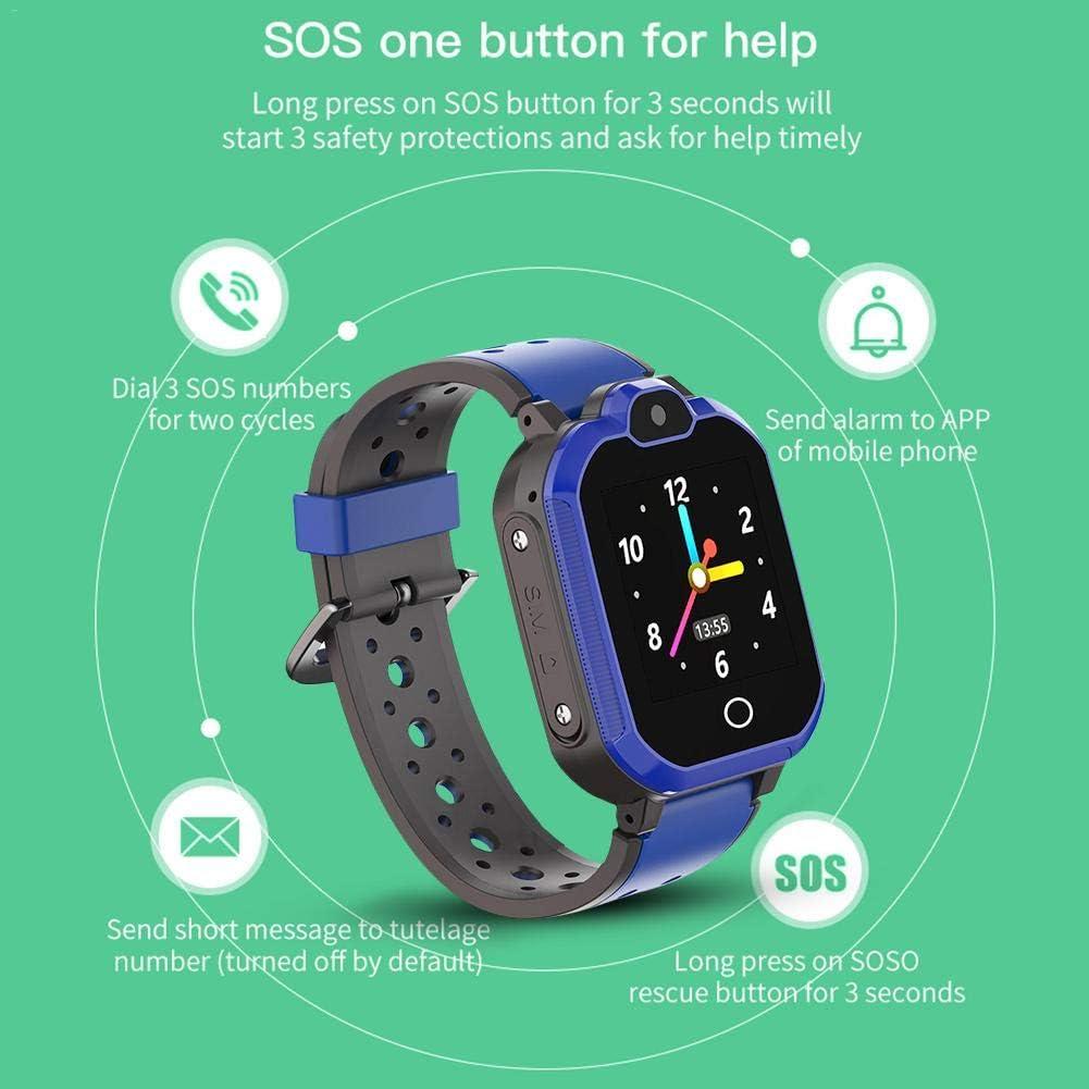 PTHTECHUS 4G GPS Niños Smartwatch Phone, niños y niña Teléfono ...