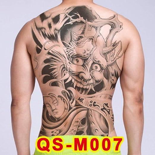 tzxdbh 3pcs Pegatinas Tatuaje en la Espalda 20 Nuevo diseño de ...