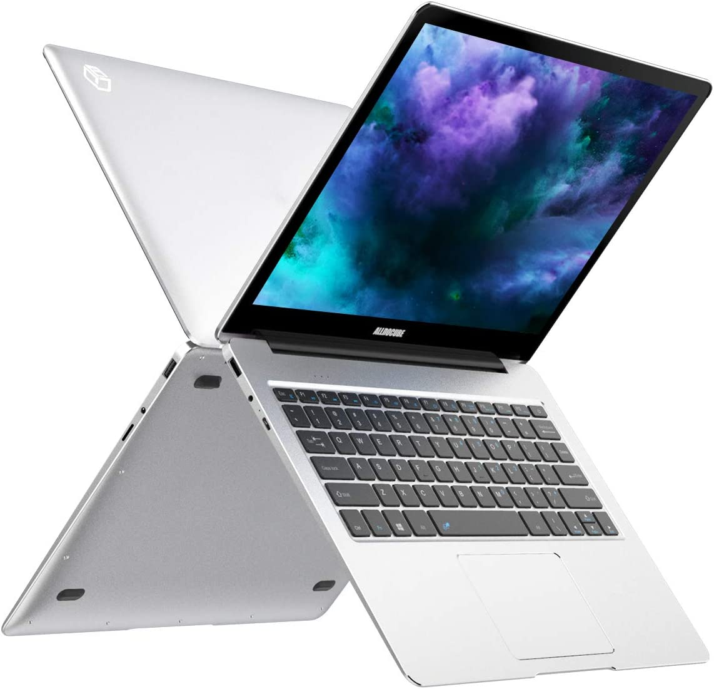 ALLDOCUBE KBook Lite 2-in-1 Laptop, 13.5 inch HD(3000×2000) IPS Display, Intel Apollo Lake N3350 Processor(2.4Ghz), 4GB RAM, 128GB SSD Storage, Windows 10 - Silver