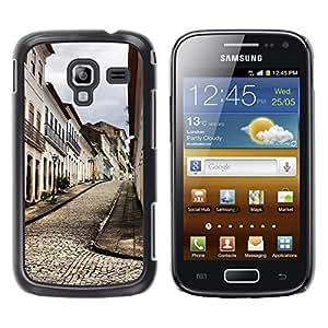 Be Good Phone Accessory // Dura Cáscara cubierta Protectora Caso Carcasa Funda de Protección para Samsung Galaxy Ace 2 I8160 Ace II X S7560M // Architecture Old Europe Town
