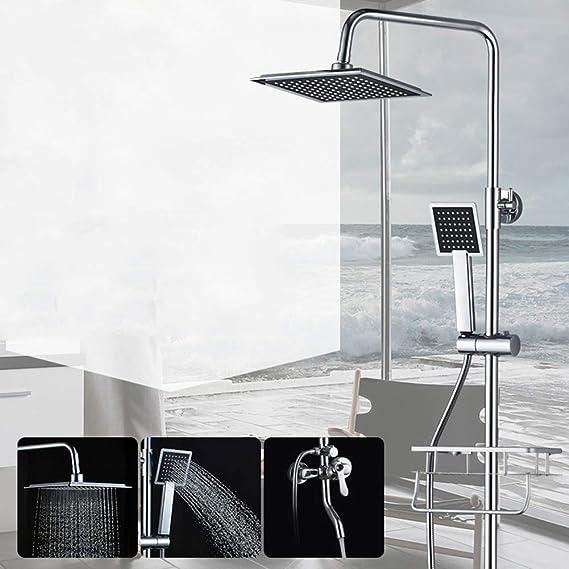Columna de ducha Conjunto de ducha con una sola manija Altura de ...